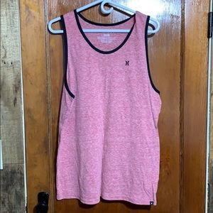 Hurley Red Athletic Tank Top Large EUC